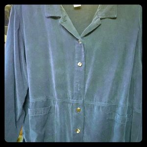Coldwater Creek, Dark Teal Blouse!